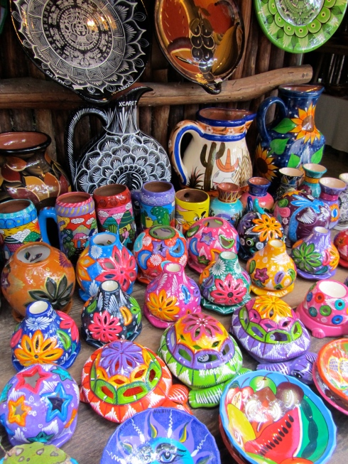 Colourful Mexican Ceramics